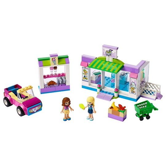 LEGO Friends Heartlake City Supermarket 41362 Building Set, Mini Dolls, Supermarket Playset 140pc image number null