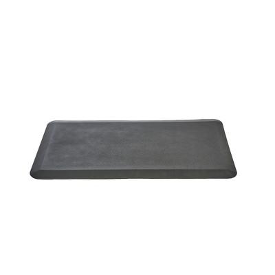 Floor Mat For Standing Desk Black   Mind Reader