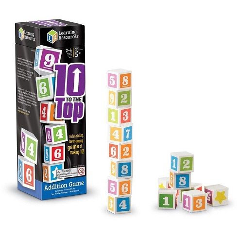 Learning Resources 10 To The Top Addition Game - image 1 of 4