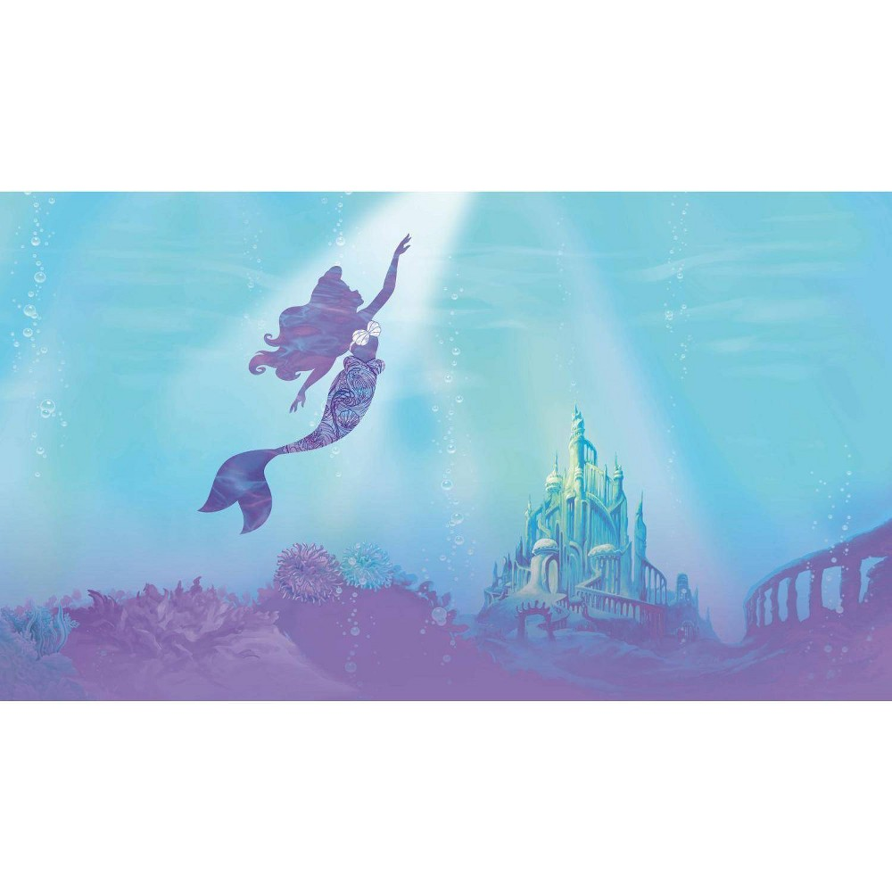 Image of Disney Princess Under The Sea Peel and Stick Wall Mural - RoomMates
