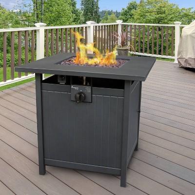 Welsey Gas Fire Table - Landmann