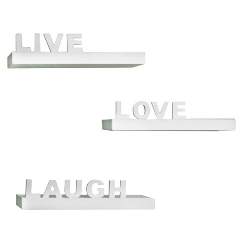 Live, Love, Laugh Shelves - image 1 of 3