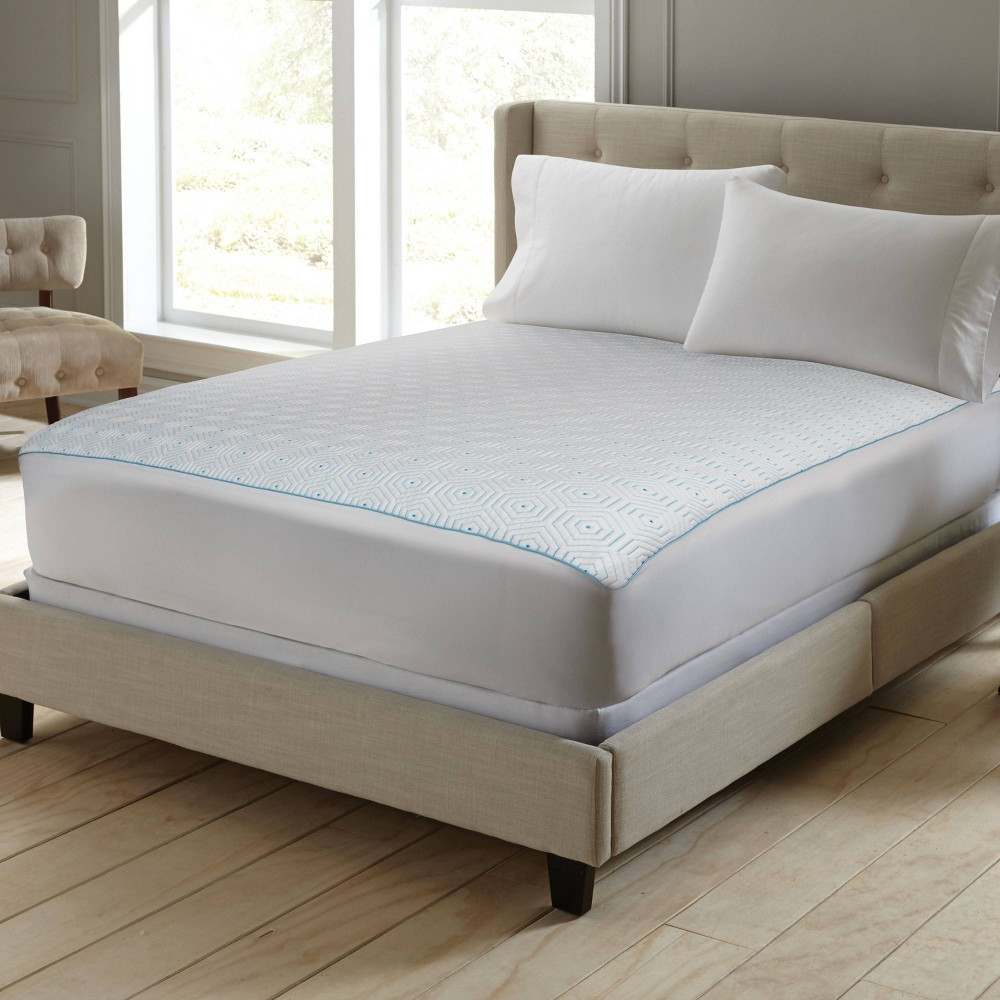 Image of Full TempaCool Mattress Pad White - Perfect Fit