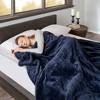 Microlight Berber Electric Blanket (King) Indigo - Beautyrest - image 3 of 4
