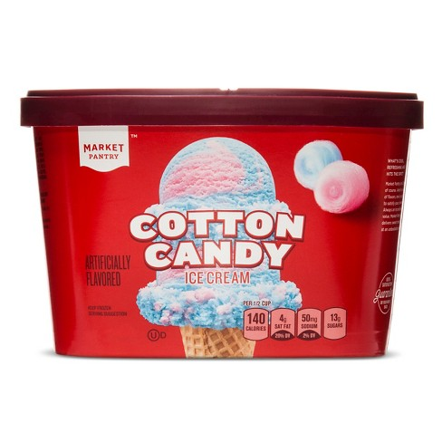 Cotton Candy Ice Cream - 1.5qt - Market Pantry™ - image 1 of 1
