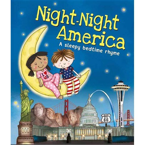 Night-Night America - by  Katherine Sully (Board_book) - image 1 of 1