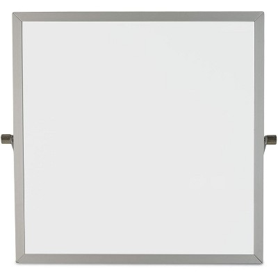 Bright Creations 2 Pack Magnetic Dry Erase Boards, Table Top Easel Whiteboard (10 x 10 Inches)