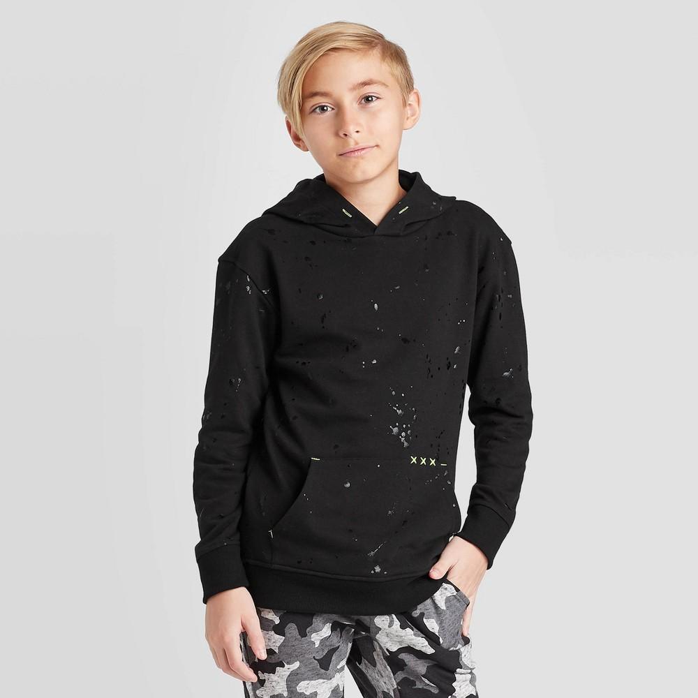 Image of Boys' Knit Sweatshirt - art class Black L, Boy's, Size: Large