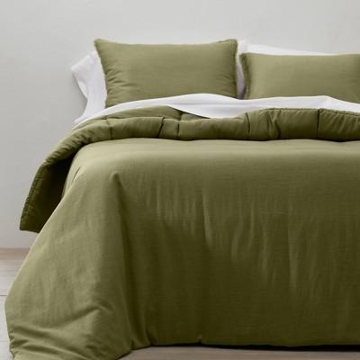 Heavyweight Linen Blend Comforter & Sham Set - Casaluna™