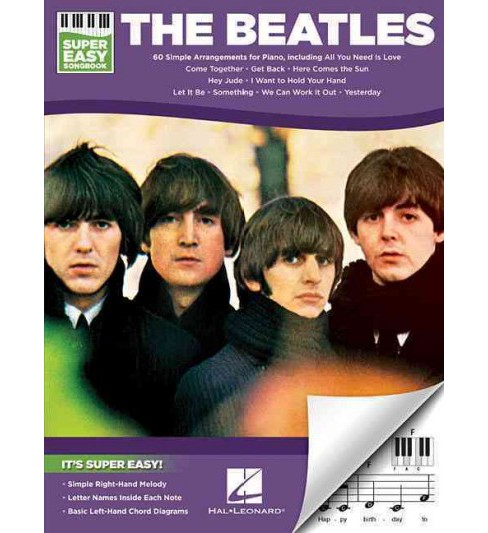 Beatles Super Easy Songbook (Paperback) - image 1 of 1