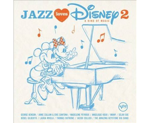 Various - Jazz Loves Disney 2:Kind Of Magic (CD) - image 1 of 1