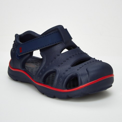 7ace2131e Toddler Boys  Surprize By Stride Rite Fargo Land   Water Sandals - Navy    Target
