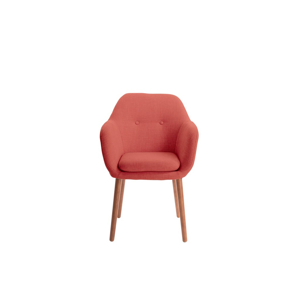 Roux Arm Chair Red - Adore Decor