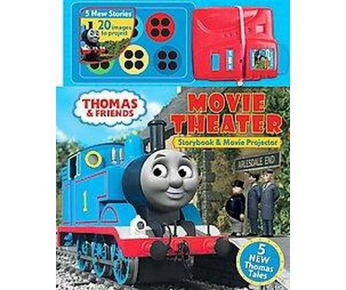Thomas & Friends Movie Theater : Storybook and Movie Projector (Hardcover) - image 1 of 1