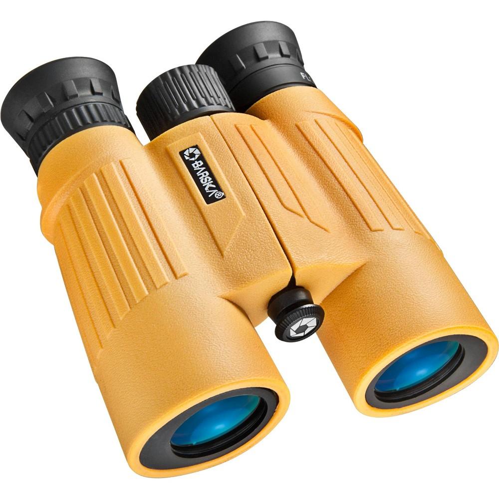 Barska 10x30mm Wp Floatmaster Lens Binoculars Yellow