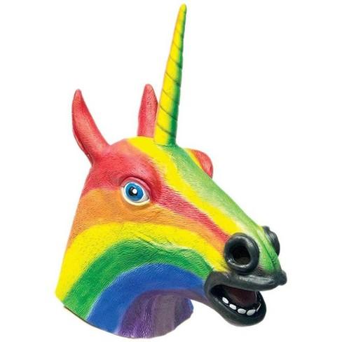 HMS Rainbow Unicorn Adult Costume Mask - image 1 of 1