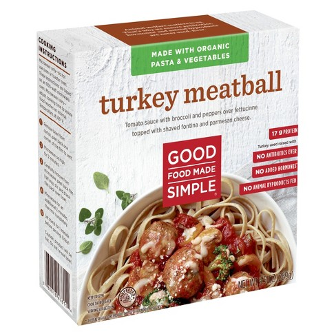 Good Food Made Simple Frozen Turkey Meatball - 9.5oz - image 1 of 1