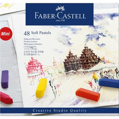 Faber-Castell 48ct Soft Pastels