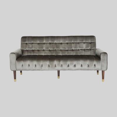 Hertford Tufted Velvet Sofa - Christopher Knight Home