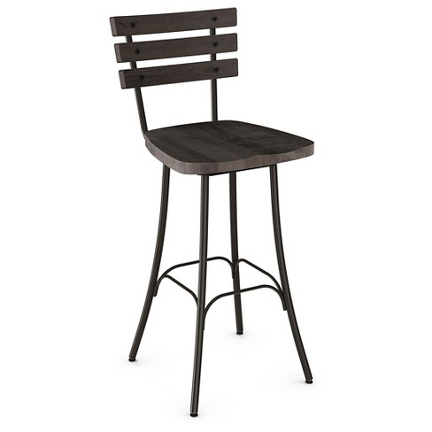 Remarkable Dock Swivel 25 5 Counter Stool Steel Amisco Machost Co Dining Chair Design Ideas Machostcouk