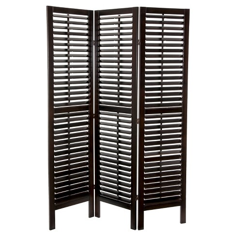 Double Shutter Room Divider Oriental Furniture