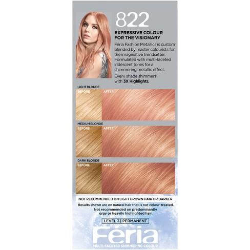 L Oreal Paris Feria Fashion Metallics Medium Blonde Target