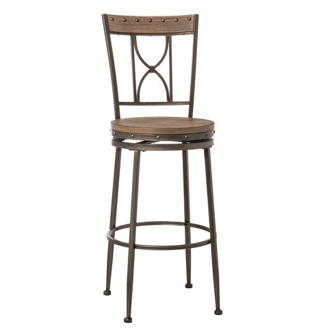 Counter And Bar Stools Hillsdale Furniture Icy Steel Target
