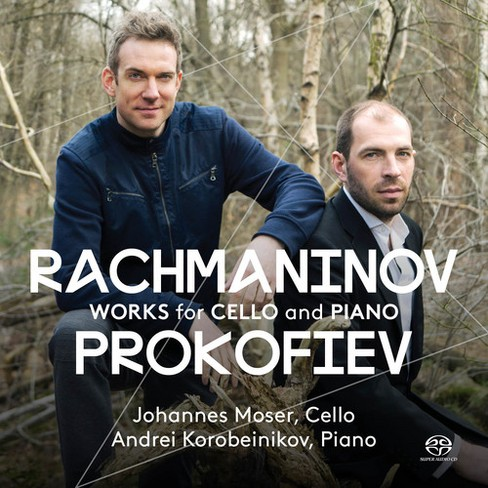 Johannes Moser - Rachmaninov/Prokofiev:Works For Cello (CD) - image 1 of 1