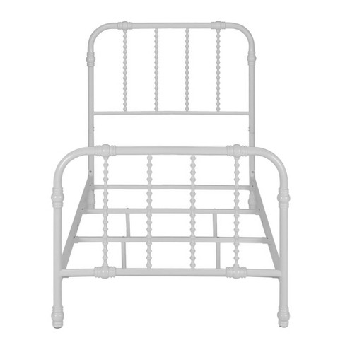 Twin Emilia Metal Bed White - Room & Joy - image 1 of 8