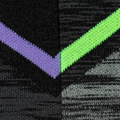 Purple/Green/Black Assorted