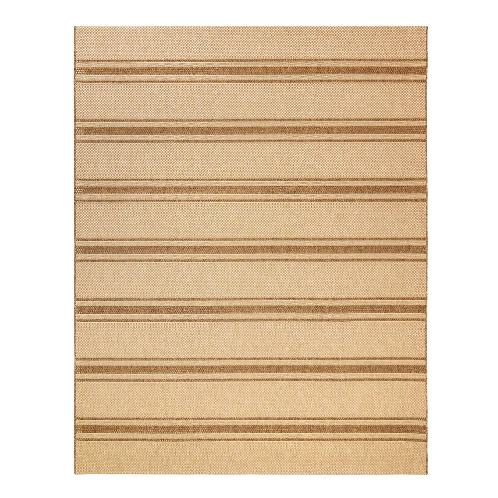 Image of 5'x7' Monte Carlo Chestnut Outdoor Rug Brown - Studio by Brown Jordan