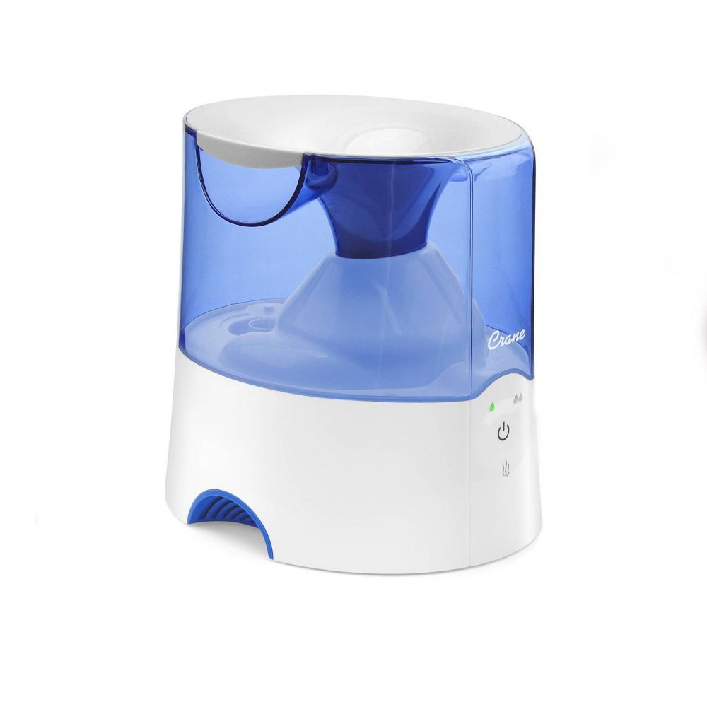 Crane Warm Mist Humidifier Blue 0 5gal