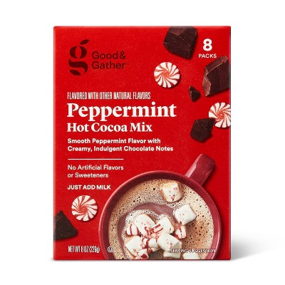 Peppermint Hot Cocoa Mix - 8oz - Good & Gather™