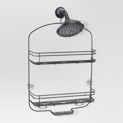 Bathroom Shower Caddy Bronze - Threshold™
