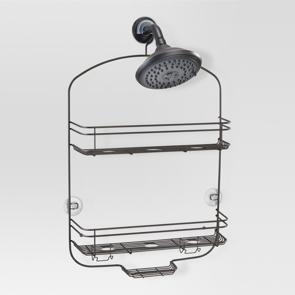 Bathroom Shower Caddy Bronze - Threshold