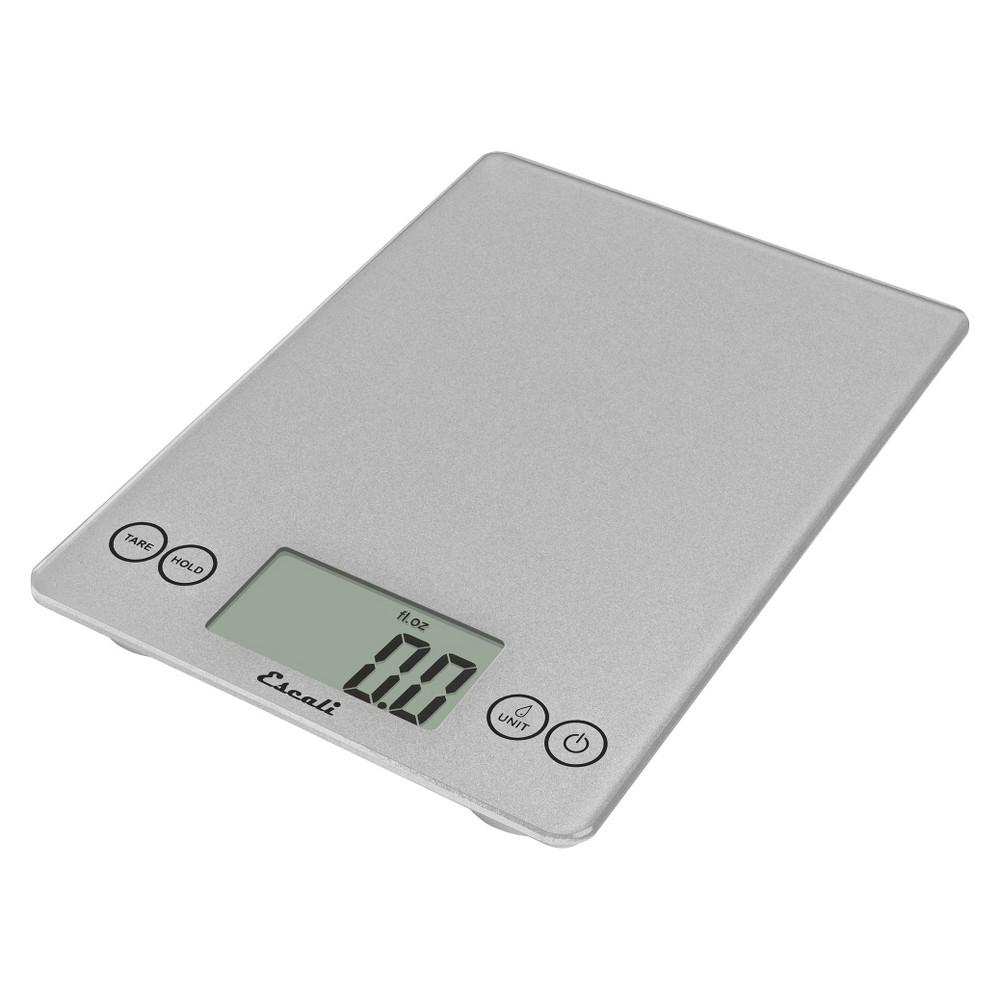 Escali Arti Digital Food Scale - 15 lb capacity - Silver