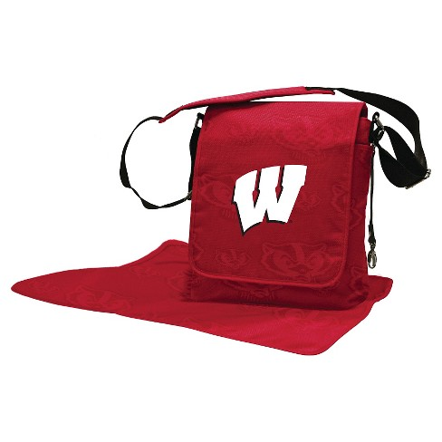 Wisconsin Badgers LilFan Diaper Messenger Bag - image 1 of 4