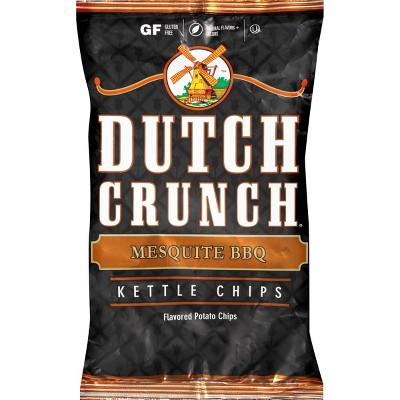 Old Dutch Mesquite BBQ Kettle Potato Chips - 9oz