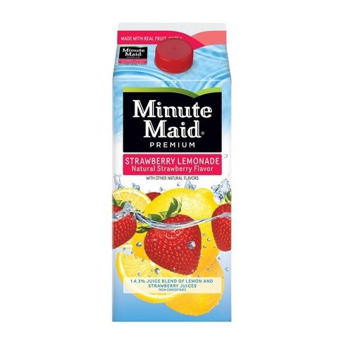 Minute Maid Strawberry Lemonade Fruit Juice - 59 fl oz - image 1 of 4
