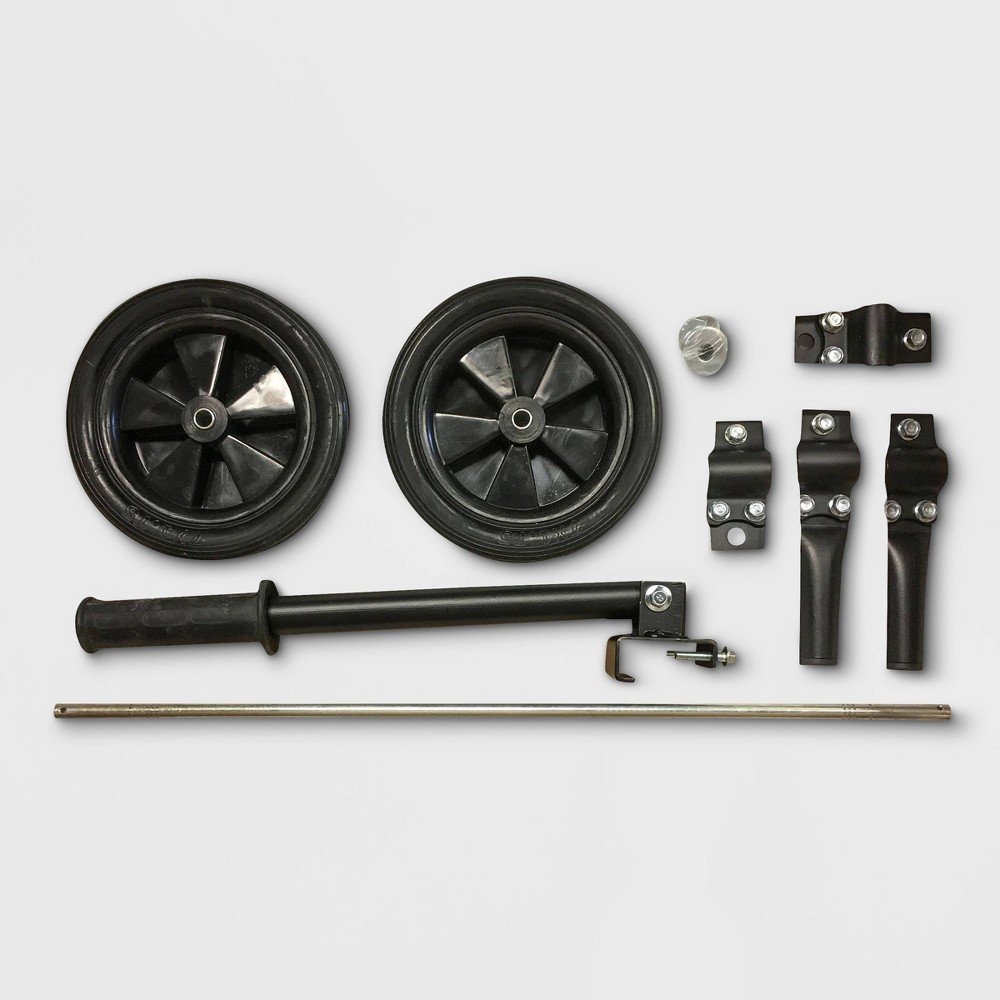 "Image of ""7"""" 4000W Rubber/Metal Wheel Kit Assembly For Generator - Sportsman"""
