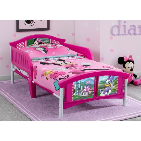 Minnie Mouse Plastic Toddler Bed Disney Target