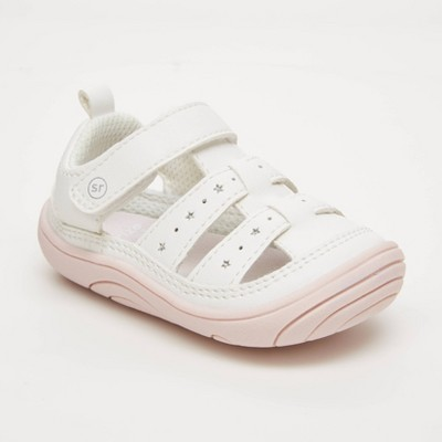 Baby Girls' Surprize by Stride Rite Darla Fisherman Sandals - White