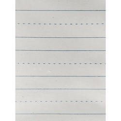 School Smart Skip-A-Line Writing Paper, Grade 1, 12 x 9 Inches, 500 Sheets