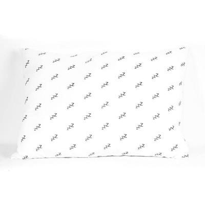 Jumbo Printed Pattern Bed Pillow - Springloft