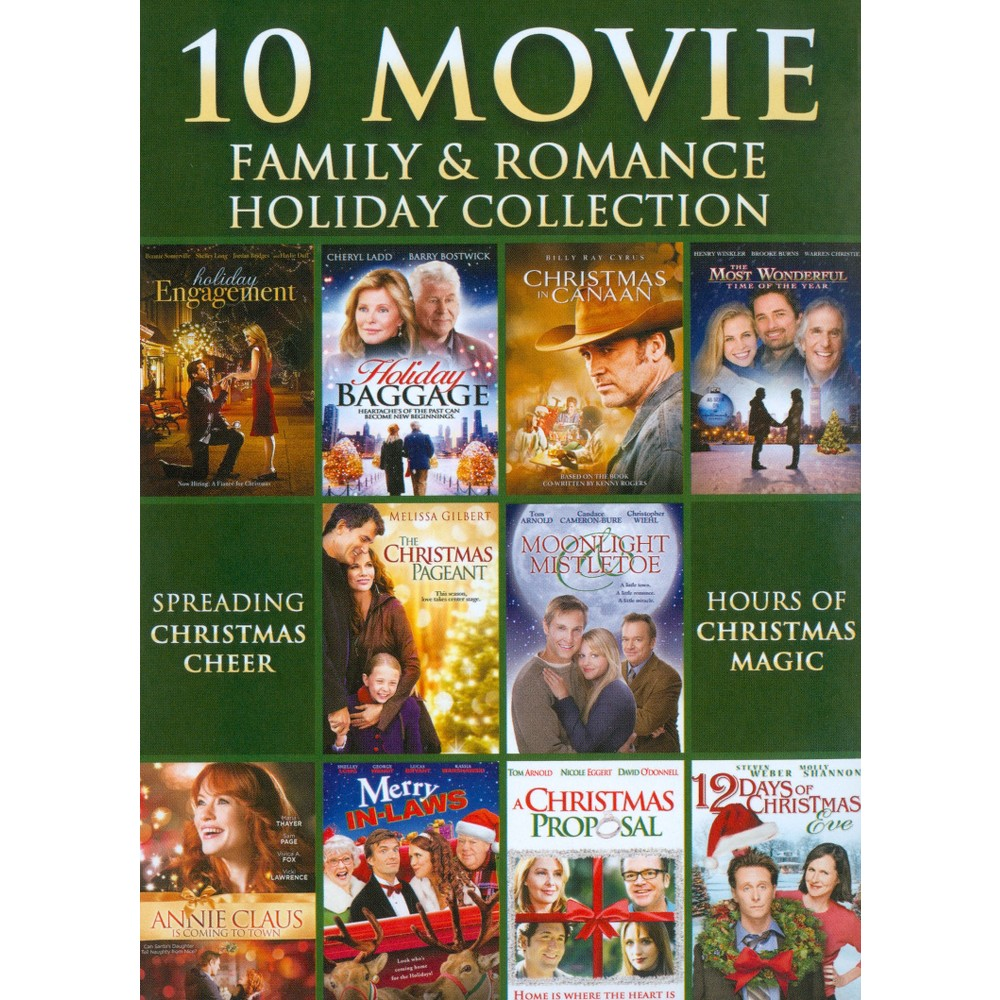 10 Movie Family & Romance Holiday Col (Dvd)