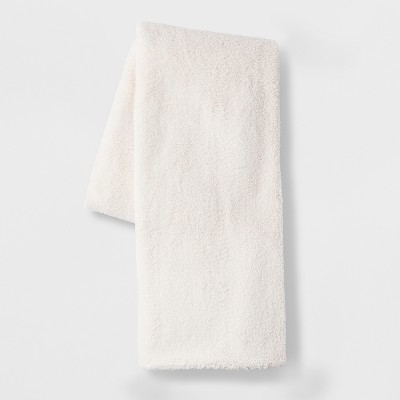 Sherpa Oversized End of Bed Throw Cream - Opalhouse™
