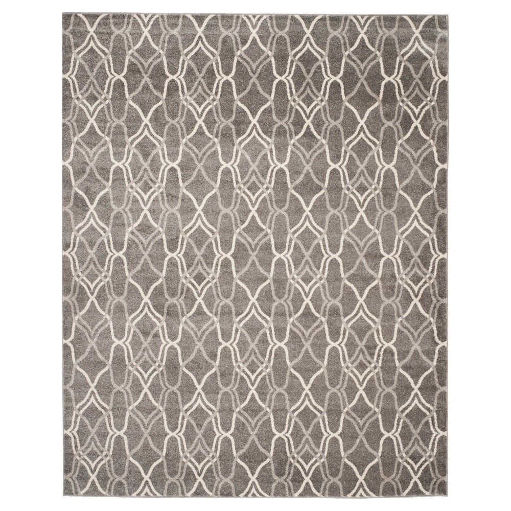 Toulouse 8'x10' Indoor/Outdoor Rug - Gray - Safavieh