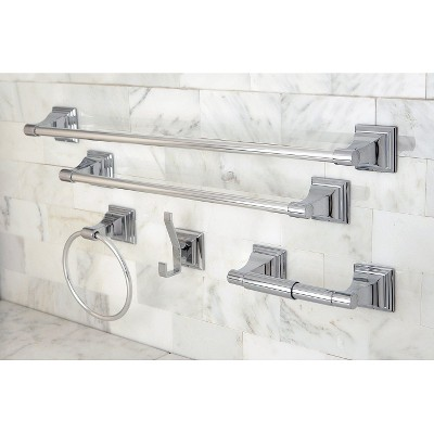 Chrome 5-piece Bathroom Accessory Set - Kingston Brass