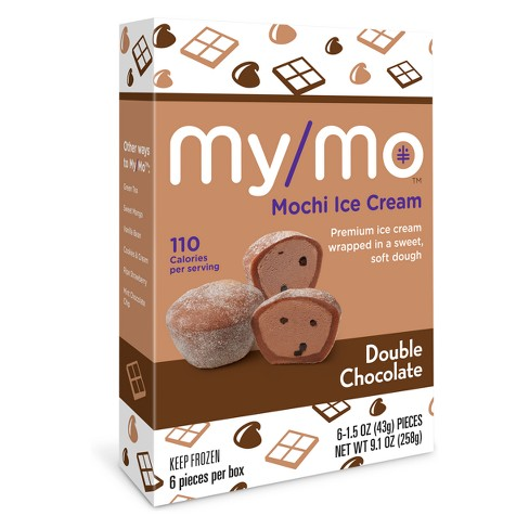 My/Mo Mochi Ice Cream Double Chocolate - 6ct - image 1 of 5