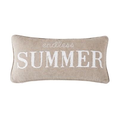 Blue Sea Endless Summer Decorative Pillow - Levtex Home